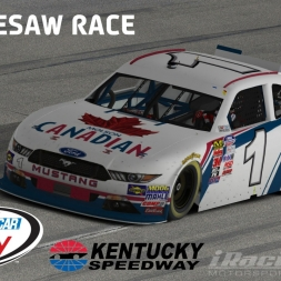 """iRacing: The Seesaw Race"" (Xfinity Mustang at Kentucky Speedway)"