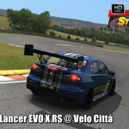 Mitsubishi Lancer EVO X RS @ Velo Cittá Driver's View - Stock Car Extreme 60FPS