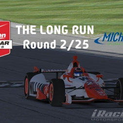 """iRacing: The Long Run"" (Verizon IndyCar Winter Series Round 2: Michigan International Speedway)"