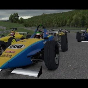 iRacing UK&I Skip Barber series round 2 from Lime Rock Park