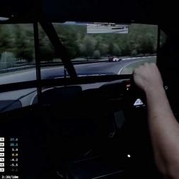 Iracing - Ford Falcon V8 @  Lime Rock Park - Calentando Motores
