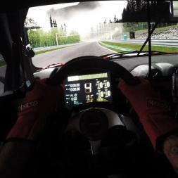 Assetto Corsa - Ferrari 599XX EVO @ Spa - Onboard triple screen