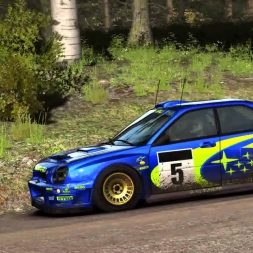 Dirt Rally Kontinjärvi with Subaru Impreza 2001 6.14,5