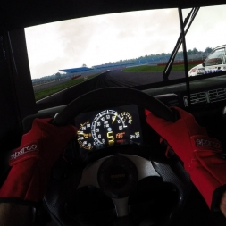 Assetto Corsa - Ford Sierra RS500 1987 @ Silverstone International - Onboard + shifter cam
