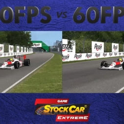30 FPS vs 60 FPS - Formula Classic @ Montreal (Replay) - Stock Car Extreme