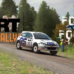 Dirt Rally - Focus WRC 01 in Finland
