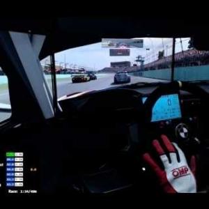 Iracing - Si no puedes atacar..defiende (BMW Z4 GT3 @ Miami Homestead)