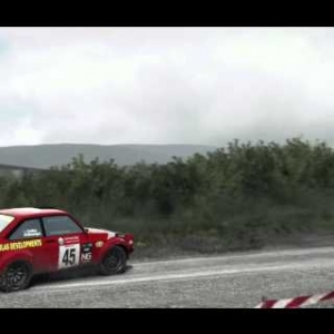 DiRT Rally - Ford Escort MkII - Bidno Moorland