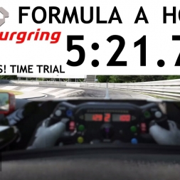 Project CARS Nordschleife Formula A Time Trial [5:21.738]