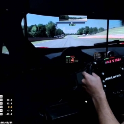 Iracing - Preparando Petit Le Mans (McLaren MP4-12C GT3@ Road Atlanta)