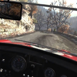 Dirt Rally Monte Carlo Stage 1 in the Mini Cooper - Oculus Rift DK2