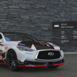 Forza 6 October free car Infinity Q60 (60fps)