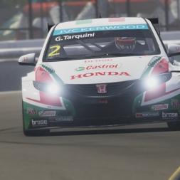 Forza 6 BTCC/WTCC race at Silverstone replay (60fps)
