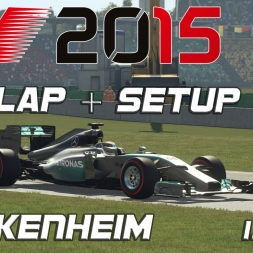 F1 2015 Hockenheim Setup + Setup (1.14,198) [PC] [60FPS]