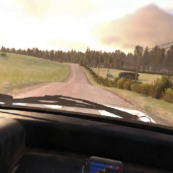 Dirt Rally Finland Stage 1 in the Metro 6R4 - Oculus Rift DK2
