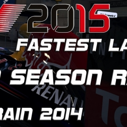 F1 2015 - Pro Season Mode - fastest Lap of the Race Bahrain 2014 (1.34,411) [PC] [60FPS]