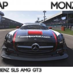Project Cars - Hotlap Monza GP   SLS AMG GT3  - 1:43.410 + Setup