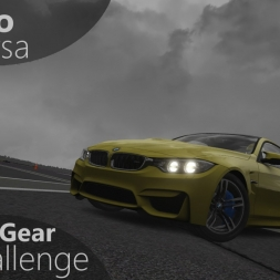 Assetto Corsa Top Gear Challenge #35 - BMW M4 Coupé Akrapovic Edition