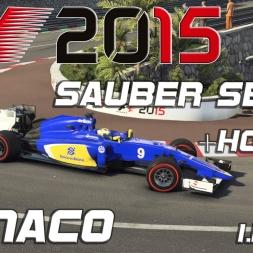 F1 2015 Sauber Setup + Hotlap Monaco (1.14,876) [PC] [60FPS]