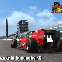 Formula Reiza @ Indianapolis RC Driver's View - Stock Car Extreme 60FPS