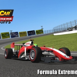 Formula Extreme @ Fontana Driver's View - Stock Car Extreme 60FPS