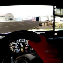 Assetto Corsa - BMW M4 Akrapovic @Okayama Docks - Drifting Onboard Triple Screen (Handbrake)