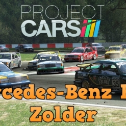 Project Cars PC Gameplay Mercedes E90 at Circuit Zolder in Historic cars battle