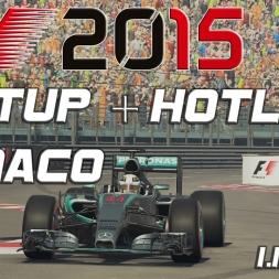 F1 2015 Setup + Hotlap Monaco (1.13,207) [PC] [60FPS]