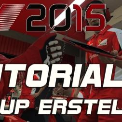 F1 2015 - Setup selber erstellen (Tutorial) [PC]