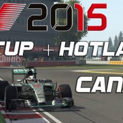 F1 2015 Setup + Hotlap Canada (1.11,238) [PC][60FPS]