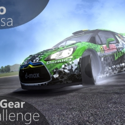 Assetto Corsa Top Gear Challenge #36 - Citreon DS3 WRC 2015
