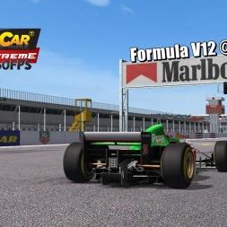 Formula V12 @ La Dehesa Oeste Driver's View - Stock Car Extreme 60FPS