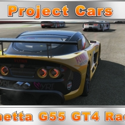 Project Cars Ginetta G55 GT4 Race (60fps)