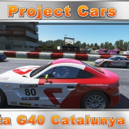 Project Cars Ginetta G40 Catalunya Race (60fps)