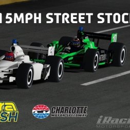 """iRacing: 215MPH Street Stocks"" (Dallara Dash at Charlotte Motor Speedway)"