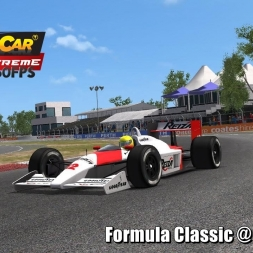Formula Classic @ Barbagallo Driver's View - Stock Car Extreme 60FPS