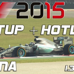 F1 2015 Setup + Hotlap China (1.34,645) [PC][60FPS]