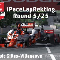 """iRacing: iPaceLapRekting"" (Verizon IndyCar Winter Series Round 5: Circuit Gilles-Villeneuve"""