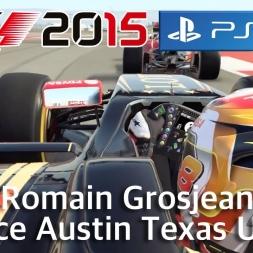F1™ 2015 - Romain Grosjean - Lotus F1 Team