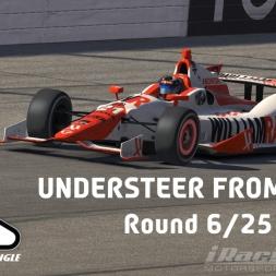"""iRacing: Understeer from Hell"" (Verizon IndyCar Winter Series Round 6: Pocono Raceway)"