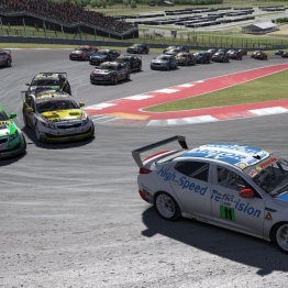 iRacing BSRTC Pro Series Round 79 from Circuit of the Americas
