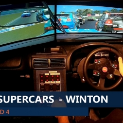 rFactor V8 Supercars 2015 Rnd 4 Winton (Highlights)