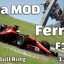 Assetto Corsa - Ferrari SF15-T Hotlap Red Bull Ring (1.07,455)[60FPS]