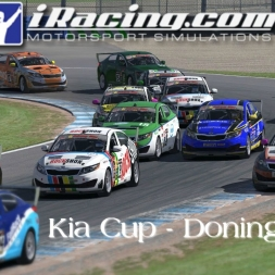iRacing Kia Cup at Donington Grand Prix Circuit