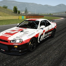 Assetto Corsa | Nissan Skyline R34 AWD Download Now!