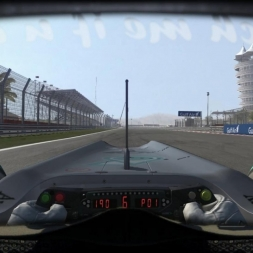 RD1: Mercedes MGP W01 @ Bahrain (Dry & Wet) Helmet Effect - F1 2010 60FPS