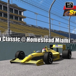 Formula Classic @ Homestead Miami Driver's View   Stock Car Extreme 60FPS