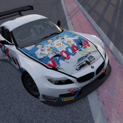 "Assetto Corsa BMW Z4 GT3 ""Michel Vaillant Skin"""