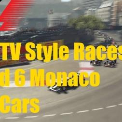 F1 2015 TV Style Races Monaco 2014 Cars