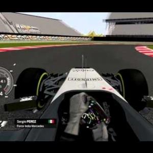 Assetto Corsa F1 2015 Perez Onboard Autódromo Hermanos Rodríguez